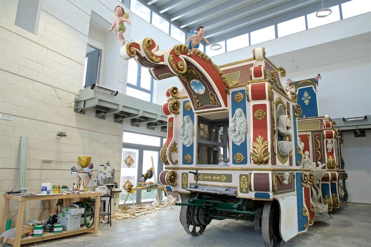 La Fabbrica del Carro Trionfale della Festa della Bruna