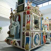 Carro trionfale per la Festa della Bruna, LA FABBRICA DEL CARRO TRIONFALE DELLA FESTA DELLA BRUNA, MATERA (MT )