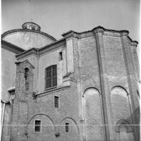 Abside della seconda metà del 1200 della Collegiata di Santa Maria Maggiore, COLLEGIATA S. MARIA MAGGIORE, PIEVE DI CENTO (BO )