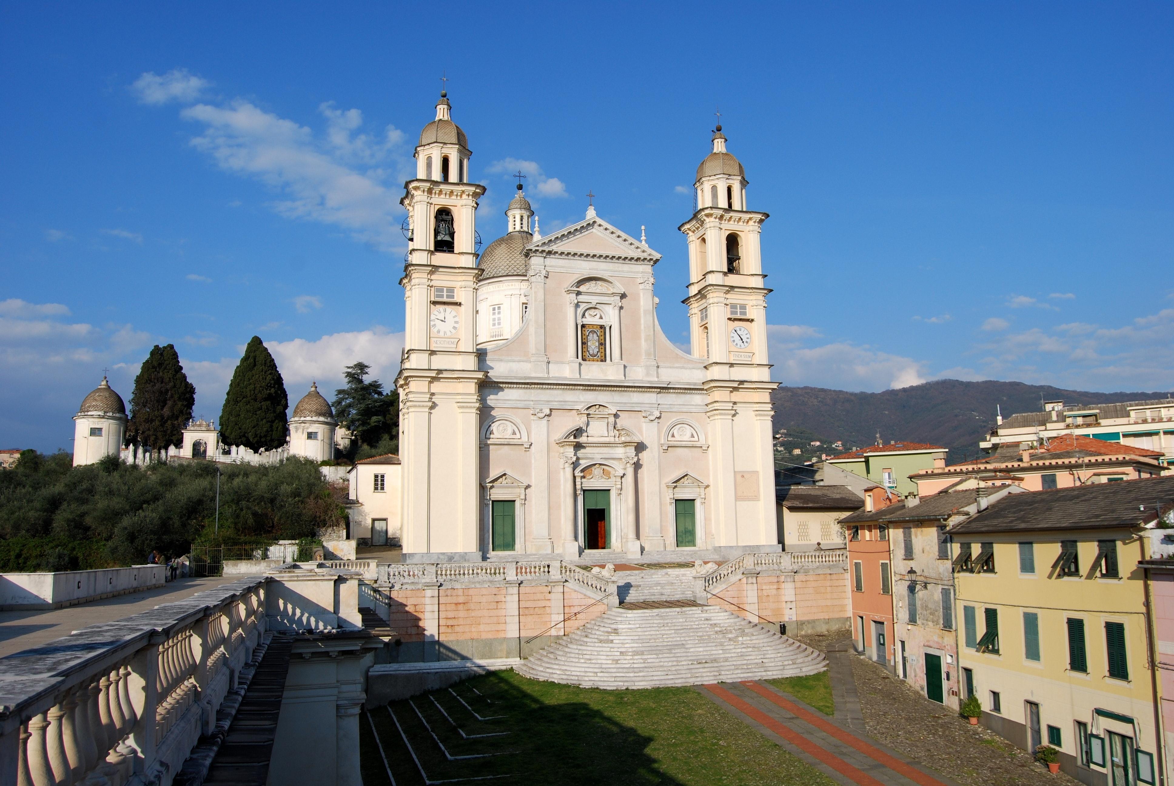La chiesa principale, CASA CARBONE, LAVAGNA (GE )