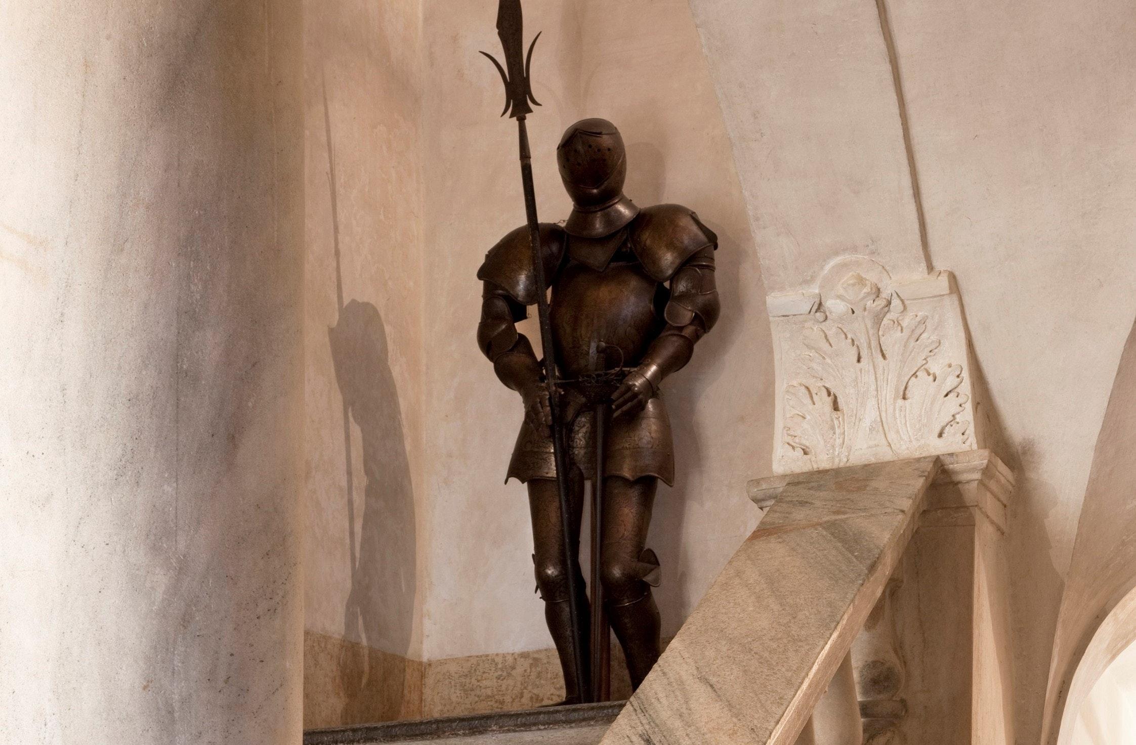 Armatura al castello della Manta, CASTELLO DELLA MANTA, MANTA (CN )