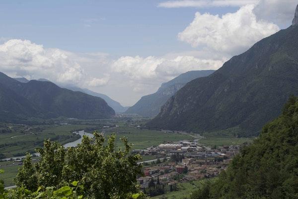 Vista sulla Val D'Adige, CASTELLO DI AVIO, AVIO (TN )