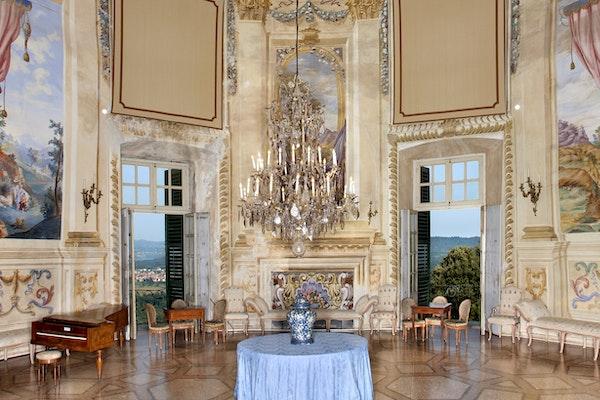 Sala da ballo, CASTELLO E PARCO DI MASINO, CARAVINO (TO )