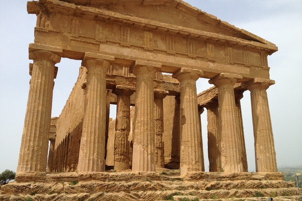 Tempio della Concordia, GIARDINO DELLA KOLYMBETHRA, AGRIGENTO (AG )