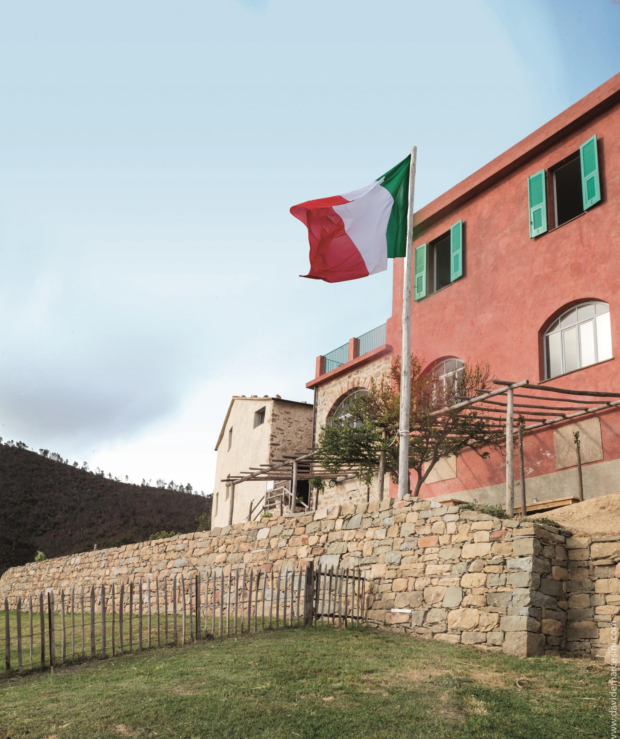 Casa Rossa, PODERE CASE LOVARA, LEVANTO (SP )