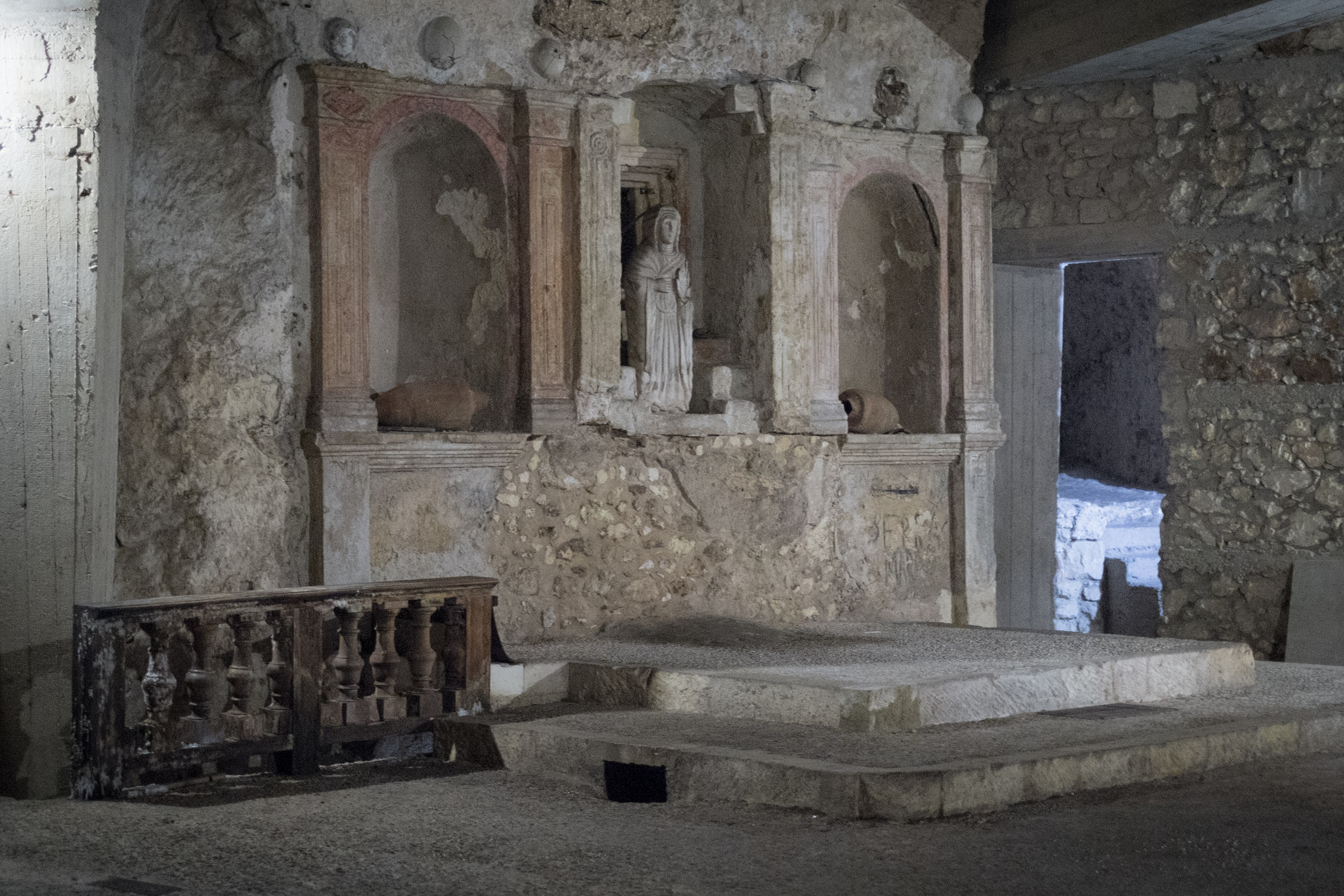 Cripta di Santa Restituta a Cagliari, SALINE CONTI VECCHI, ASSEMINI (CA )