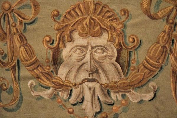 Dettaglio decorazione, TEATRINO DI VETRIANO, PESCAGLIA (LU )