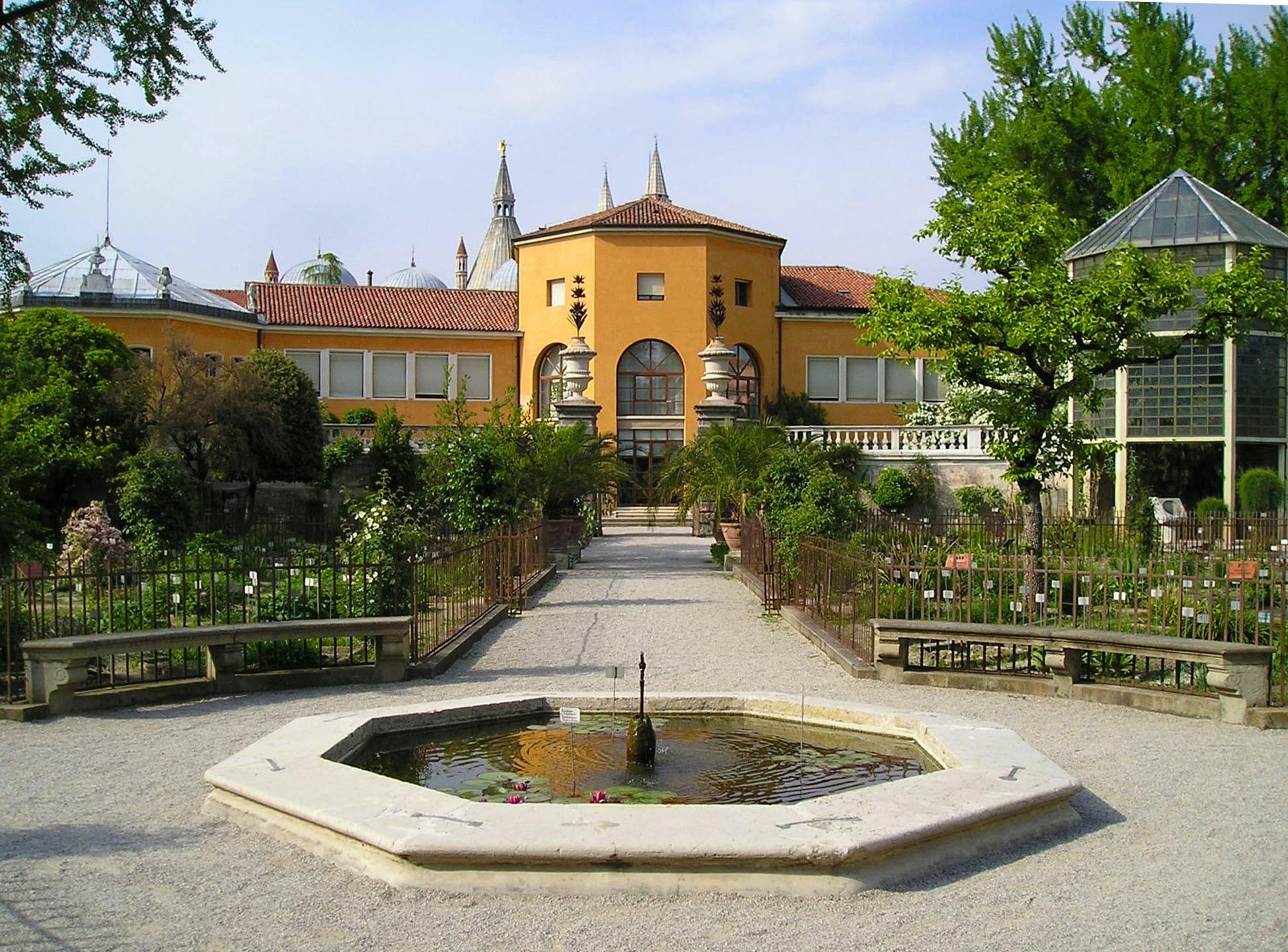 Orto Botanico di Padova, VILLA DEI VESCOVI, TORREGLIA (PD )