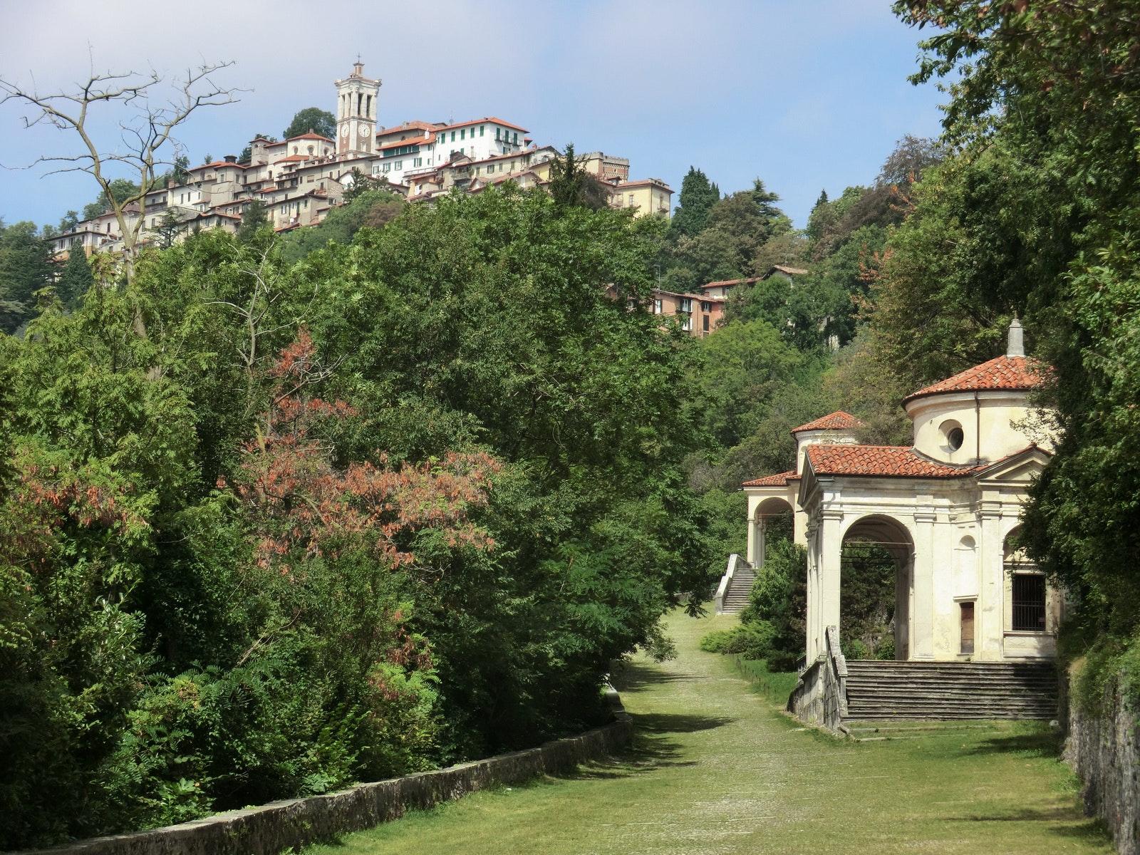 Sacro Monte di Varese, VILLA E COLLEZIONE PANZA, VARESE (VA )