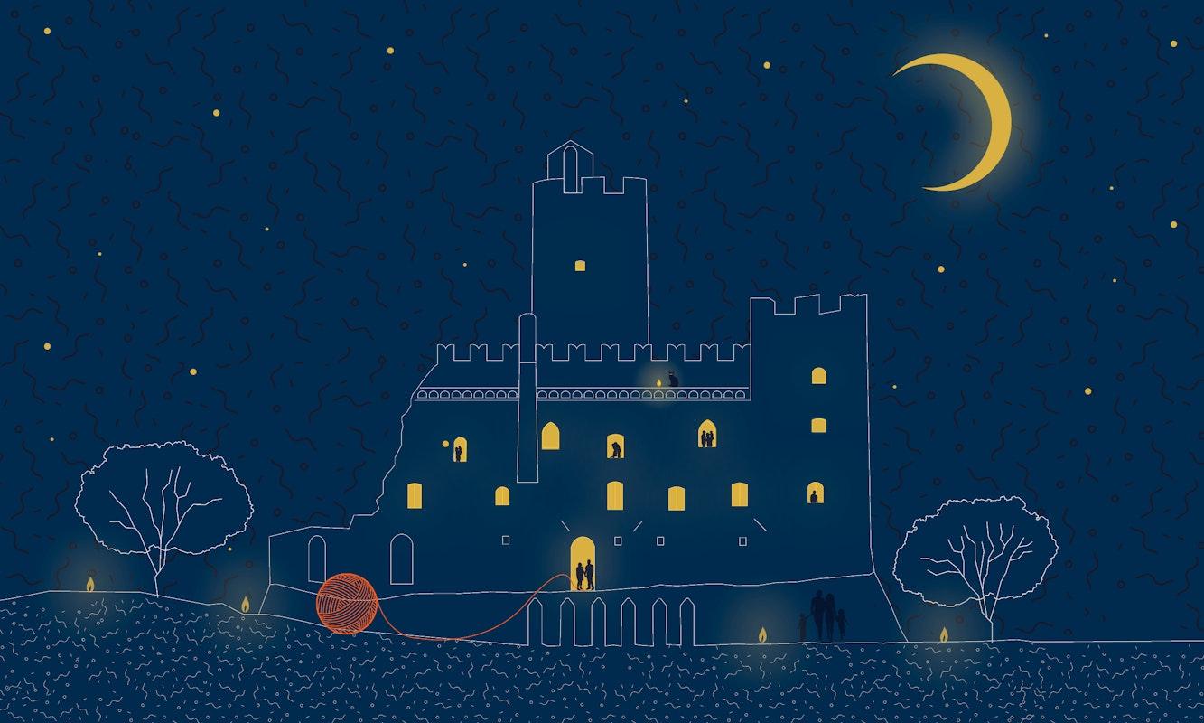 Sere d'incanto al Castello