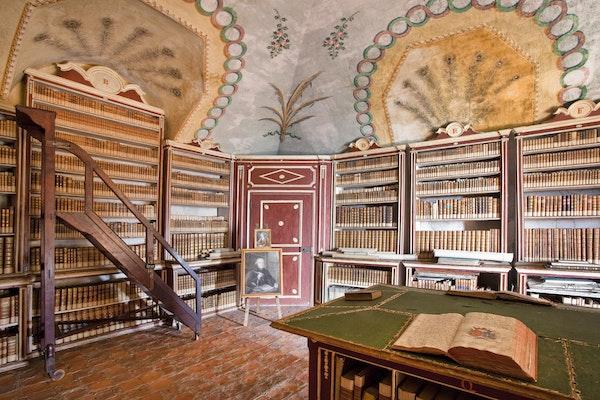 Ti racconto il castello: la biblioteca