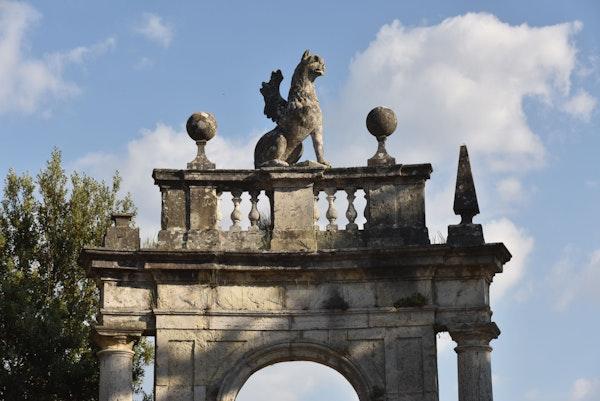 Presentazione del restauro dell'Arco dell'Arcadia