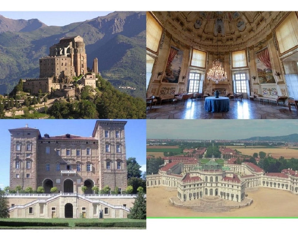 Torino, castelli e abbazie del Piemonte