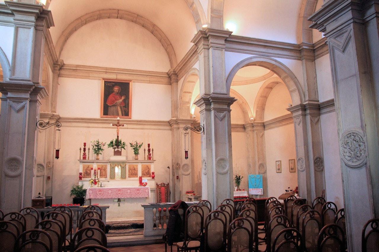 Visita al Tempietto di San Lucio di Moncucco