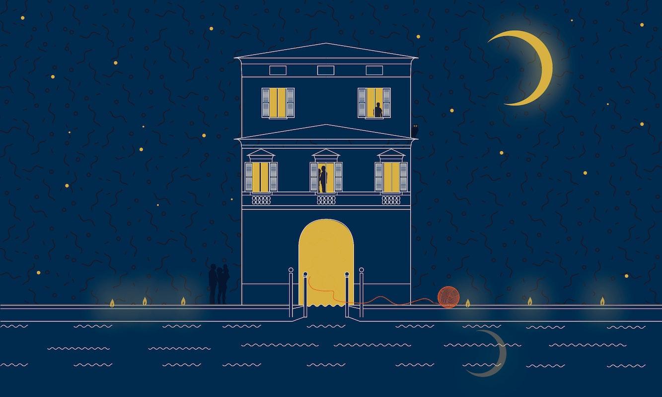 Villa Fogazzaro Roi a lume di candela