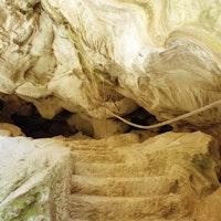 Particolare della Grotta di Nettuno, PARCO VILLA GREGORIANA, TIVOLI, ROMA