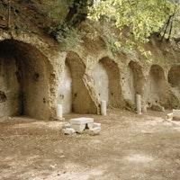 Sostruzioni della Villa di Manlio Vopisco, PARCO VILLA GREGORIANA, TIVOLI, ROMA