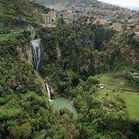 Veduta aerea del Parco, PARCO VILLA GREGORIANA, TIVOLI, ROMA