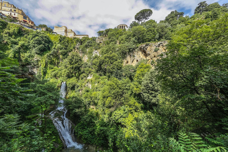 Valle dell'Inferno, PARCO VILLA GREGORIANA, TIVOLI, ROMA