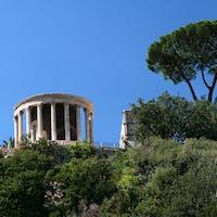 Tempio di Vesta, PARCO VILLA GREGORIANA, TIVOLI, ROMA