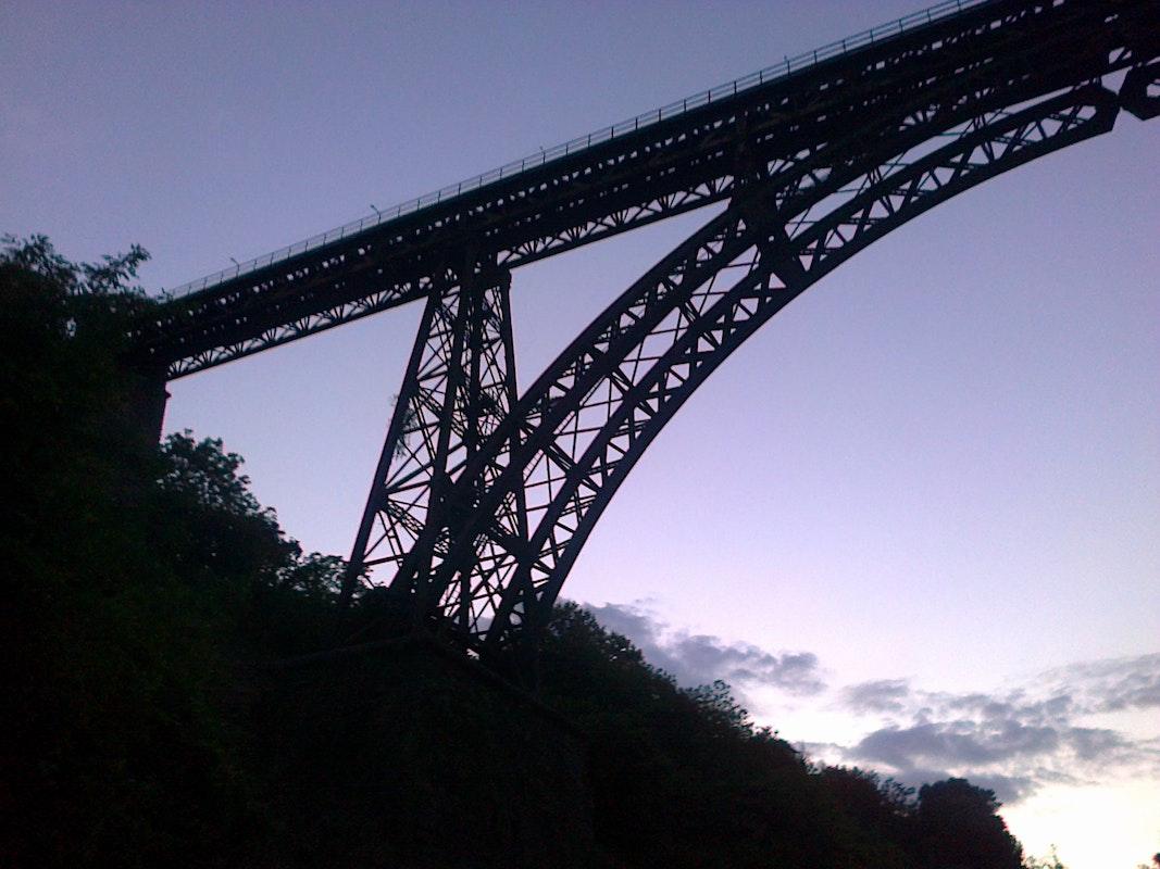 PONTE FERROVIARIO SUL RIO VICANO