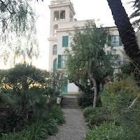 villa garnier, VILLA GARNIER, BORDIGHERA (IM )