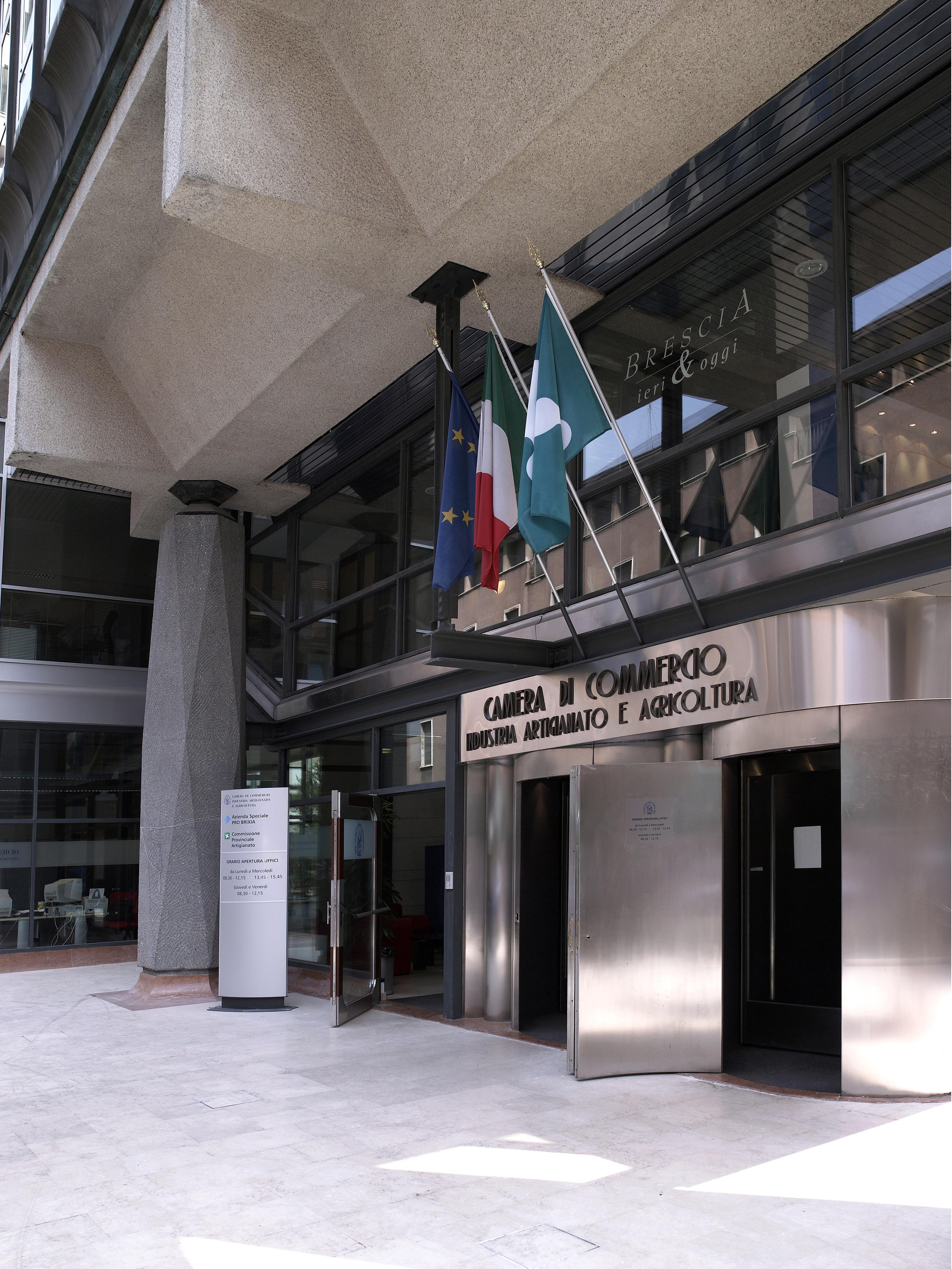 cciaa, PALAZZO DELLA CAMERA DI COMMERCIO, BRESCIA (BS )