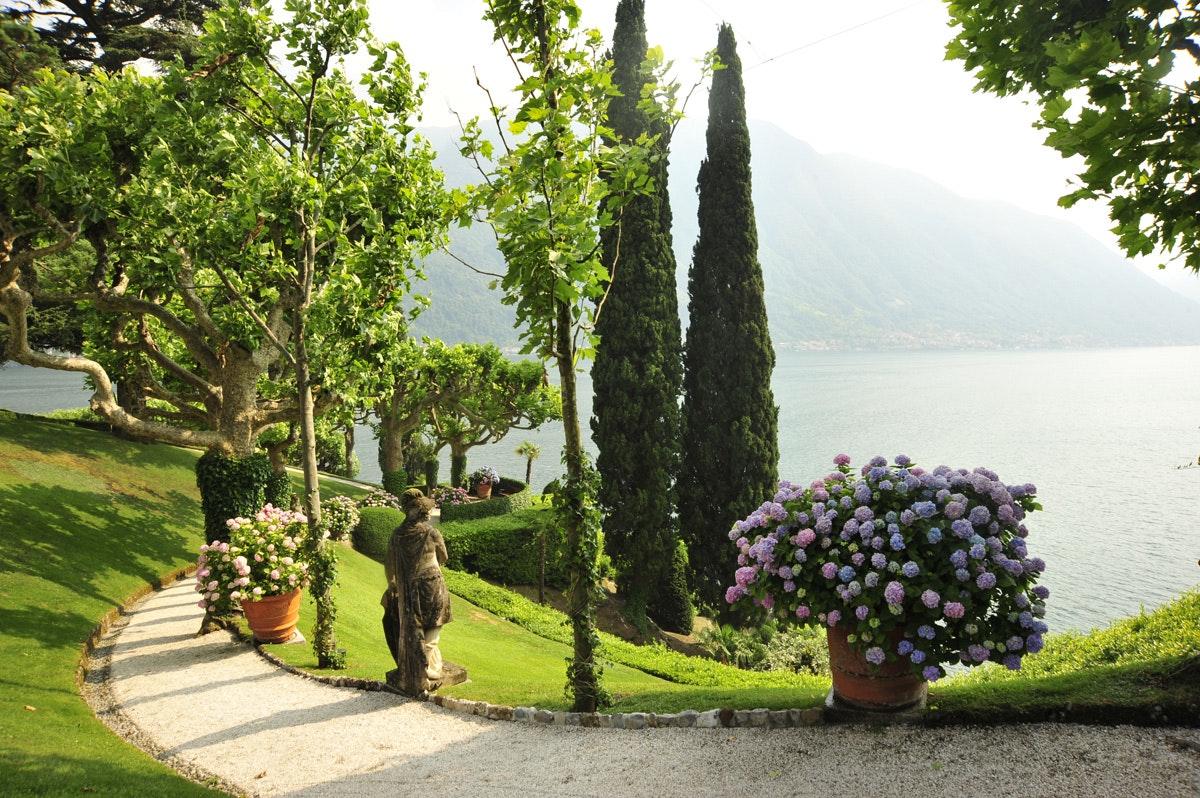 Veduta del giardino, VILLA DEL BALBIANELLO, TREMEZZINA, COMO