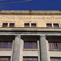 """IIS """"Cattaneo""""_facciata, ISTITUTO DI ISTRUZIONE SUPERIORE STATALE """"C. CATTANEO"""", MILANO (MI )"""