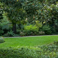 Particolare del giardino, VILLA NECCHI CAMPIGLIO, MILANO