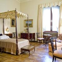 Camera da letto di Nedda Necchi, VILLA NECCHI CAMPIGLIO, MILANO