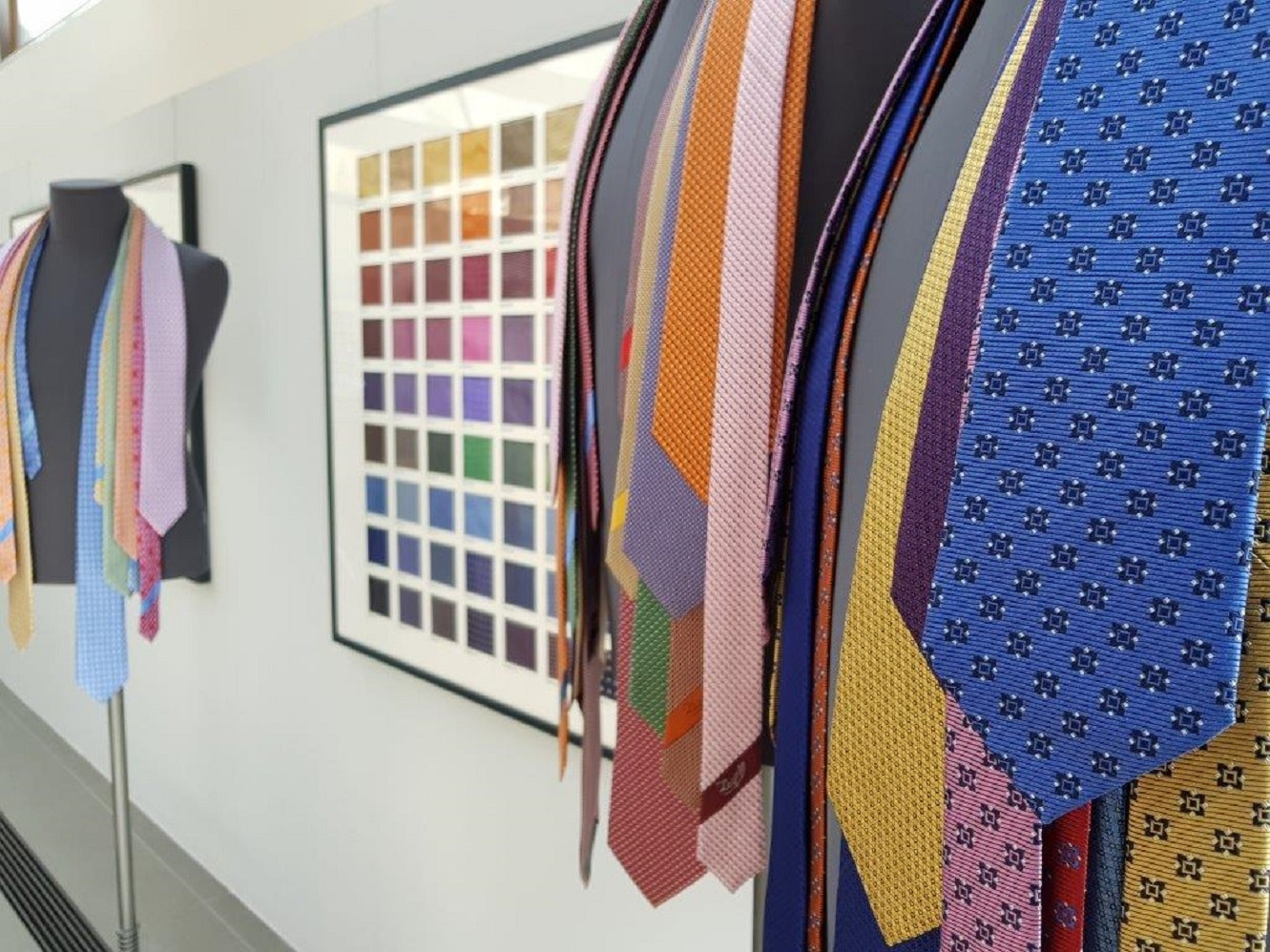 Casa Zegna, progetto creativo cravatteria, CASA ZEGNA, TRIVERO (BI )