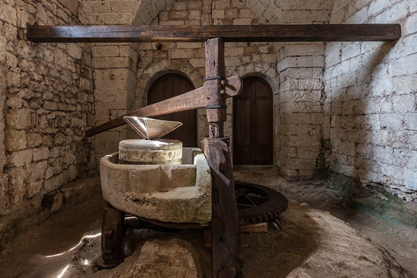 Il mulino all'Abbazia di Cerrate, ABBAZIA DI SANTA MARIA DI CERRATE, LECCE (LE )