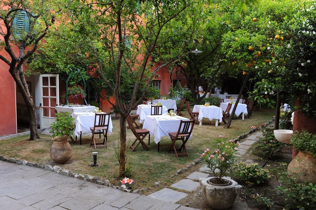 Il giardino, CASA CARBONE, LAVAGNA (GE )