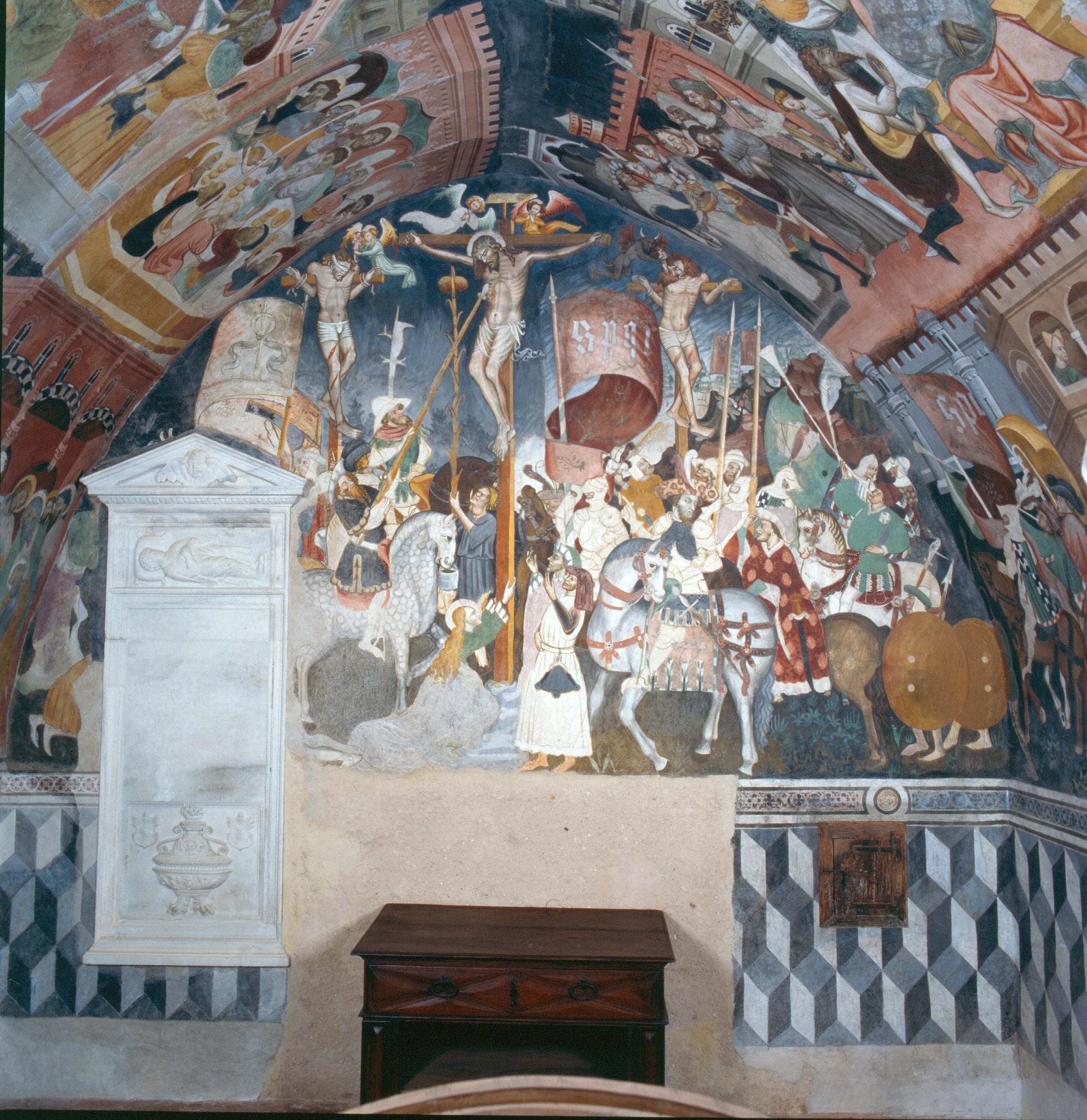 Cappella di Valerano, CASTELLO DELLA MANTA, MANTA (CN )