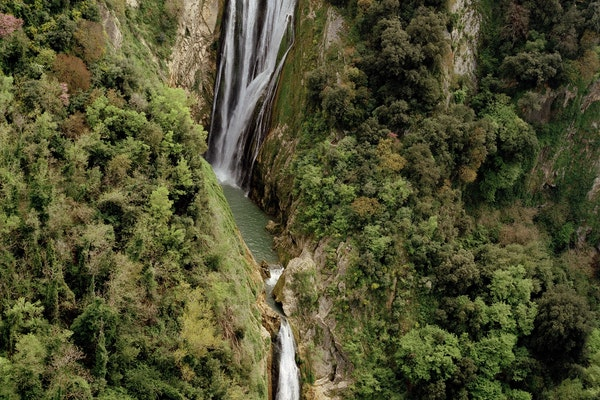 Cascata, PARCO VILLA GREGORIANA, TIVOLI (RM )