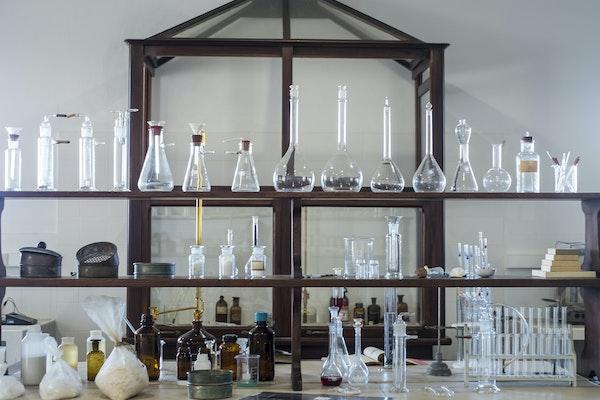 Laboratorio chimico, SALINE CONTI VECCHI, ASSEMINI (CA )
