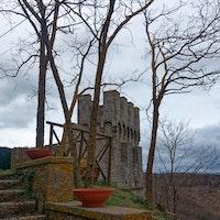 Triana, Castello Piccolomini, CASTELLO PICCOLOMINI DI TRIANA, ROCCALBEGNA (GR )