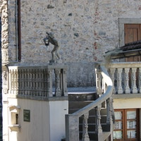 Ingresso esterno del Teatrino, TEATRINO DI VETRIANO, FRAZ. VETRIANO – PESCAGLIA, LUCCA