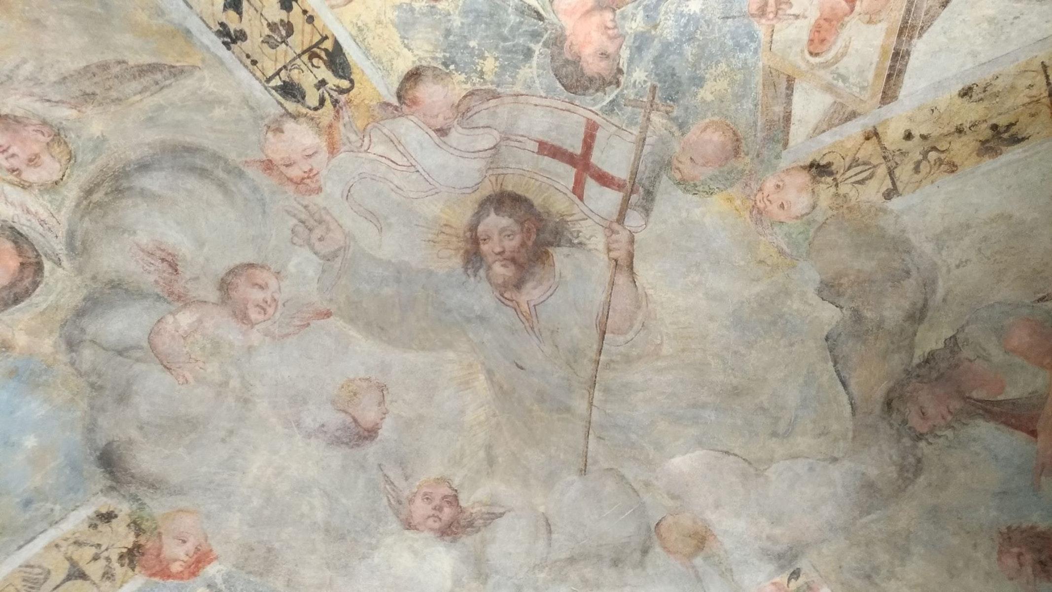 Chiesa e Sagrestia di S. Giovanni Battista di Vazzola