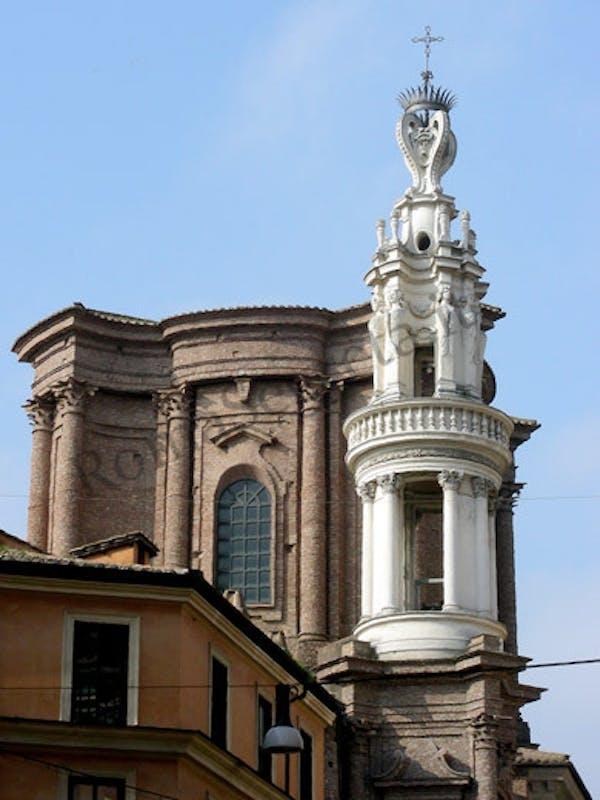 Basilica Di S Andrea Delle Fratte E Campanile Del Borromini I Luoghi Del Cuore Fai